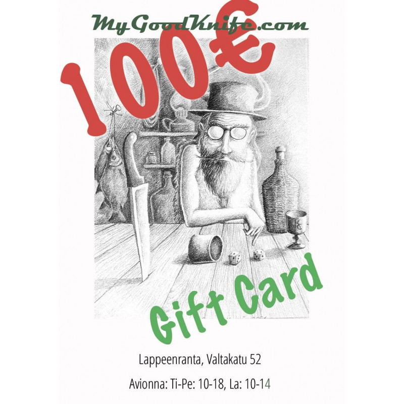 Virtual Gift Card 100 euro Gift100 - 1