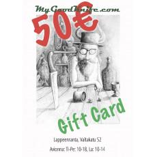 Virtual Gift Card 50 euro
