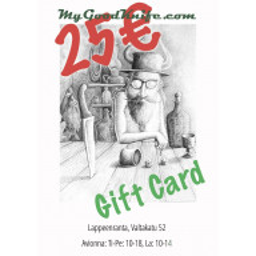 Virtual Gift Card 25 euro