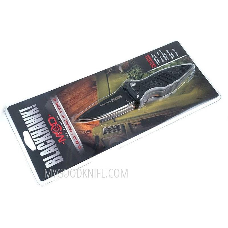 Automatic knife Blackhawk CQD Mark II Type E  648018134302 8.4cm - 1