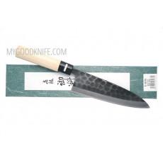 Японский кухонный нож Деба Tojiro Hammered Black  F-1076 18см - 3