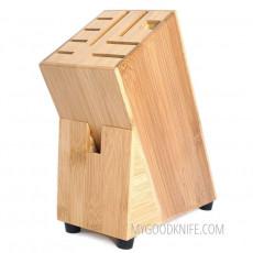 Подставка для ножей Zeller Блок, бамбуковый 25319 19см