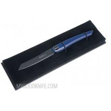 Steak knife Nesmuk JANUS Folder, Blue Piano Lacquer  FJKB2014 8.5cm - 2