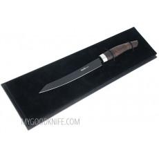Кухонный нож слайсер Nesmuk JANUS для тонкой нарезки, гренадилла J5G1602013 16см - 2