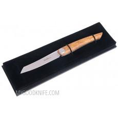 Cuchillo Chuletero Nesmuk Folder, Olive Wood  FSO2013 8.5cm