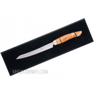 Slicing kitchen knife Nesmuk SOUL Olive wood S3O1602012 16cm