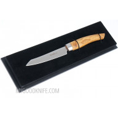 Овощной кухонный нож Nesmuk SOUL Office and Paring knife, олива S3O902013 9см - 2