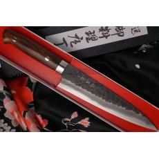 Японский кухонный нож Гьюто Takeshi Saji Iron Wood HG-3107 18см