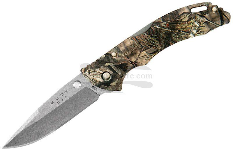 Фотография #1 Складной нож Buck 285 Bantam BLW Break-Up Country Camo 0285CMS24-B 7.9см