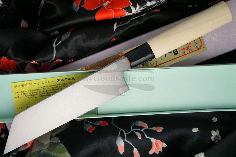 Photo #2 Japanese kitchen knife Sakai Takayuki Mukimono Inox  04397 18cm