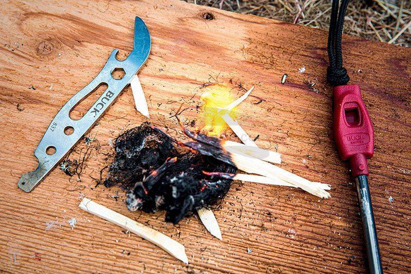 Фотография #2 Мультитул Buck Selkirk Fire Starter  0837BKS-B