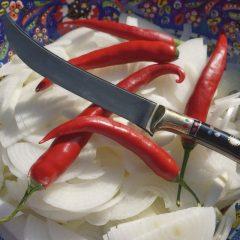 Uzbek Pchak knives