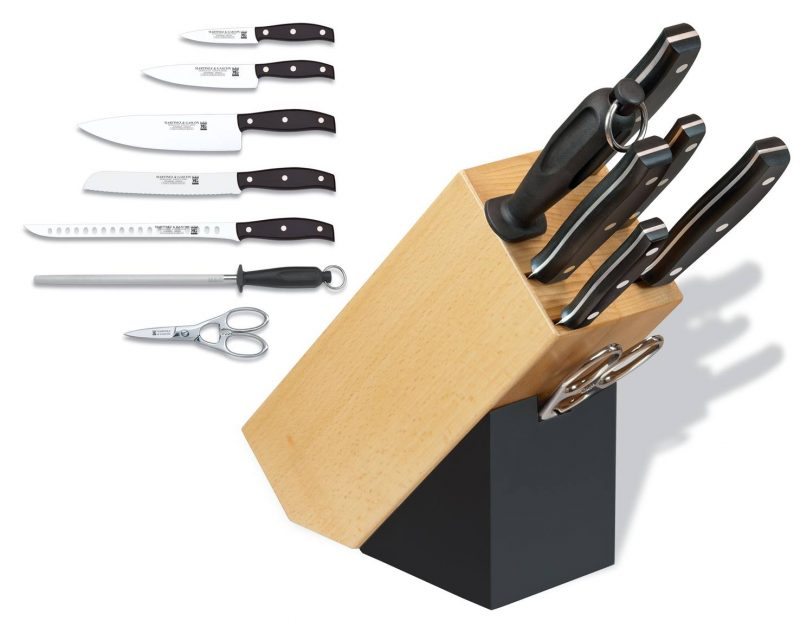 Photo #1 Martinez&Gascon Knife Block  (0985)