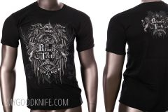 Tactical knife blade tech t-shirt black (m)