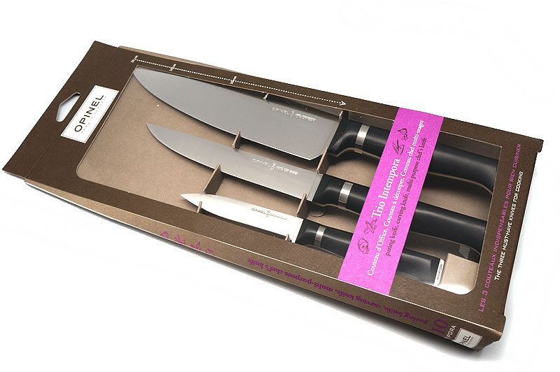 Photo #1 Opinel Trio Intempora (3 knives) 001614