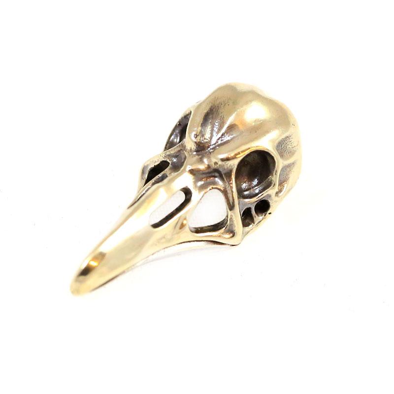 "Photo #2 Lanyard Bead ""Bird's Skull"" (nickel silver)"