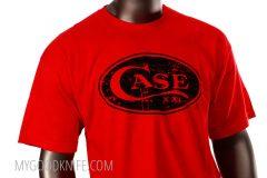 Case T-Shirt Red  (XL)