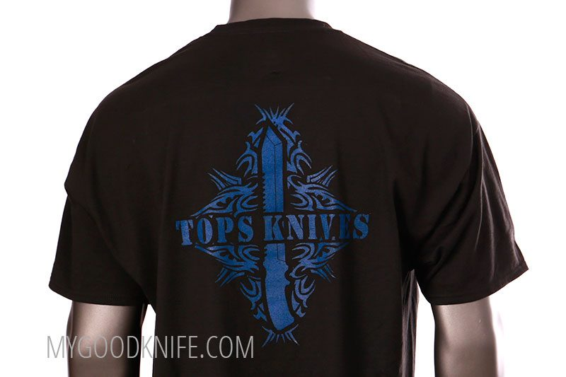 Photo #2 TOPS T-shirt Tribal Art (XXL)