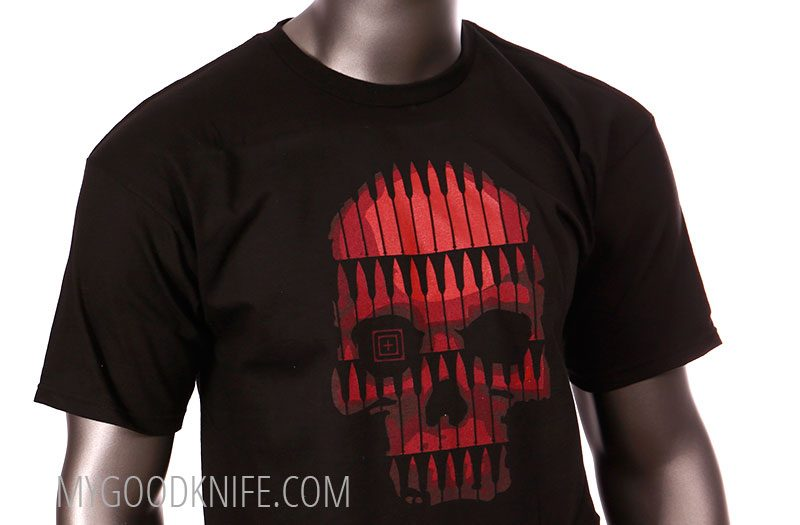 Photo #1 5.11 T-Shirt Bullet Skull (XL)