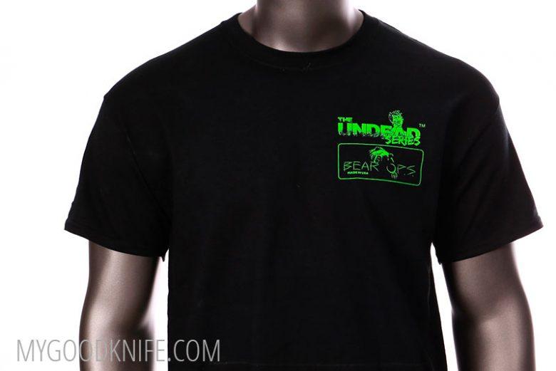 Photo #2 Bear OPS T-Shirt The Undead Series (XL)