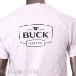 Photo #3 Buck T-shirt Celebrating 50 years of the 110 Folding Hunter (L)