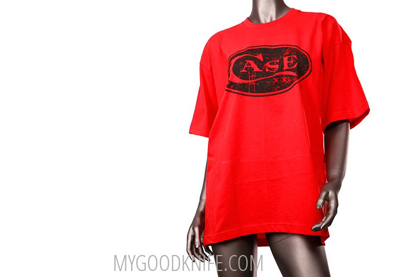 Photo #2 Case T-Shirt Ladies Red  (M)