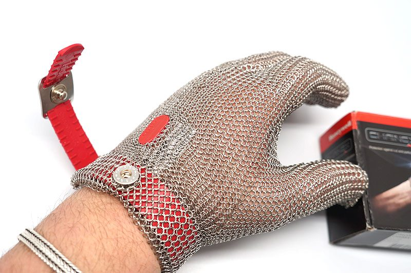 Photo #1 Cut-resistant glove (stainless-steel) Honeywell
