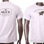 Photo #1 Buck T-shirt Celebrating 50 years of the 110 Folding Hunter (L)