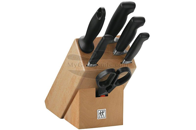Foto #1 Juego de cuchillos de cocina Zwilling J.A.Henckels Four Star 7 pcs 35066-000-0