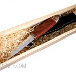 Photo #1 Salmon knife in a wooden gift box Marttiini (552010W)