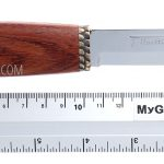 Photo #3 Salmon knife in a wooden gift box Marttiini (552010W)