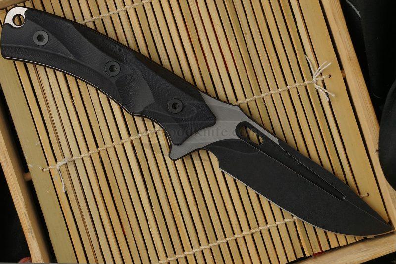 Фотография #2 Охотничий/туристический нож We Knife Vindex Черный 802B 11см