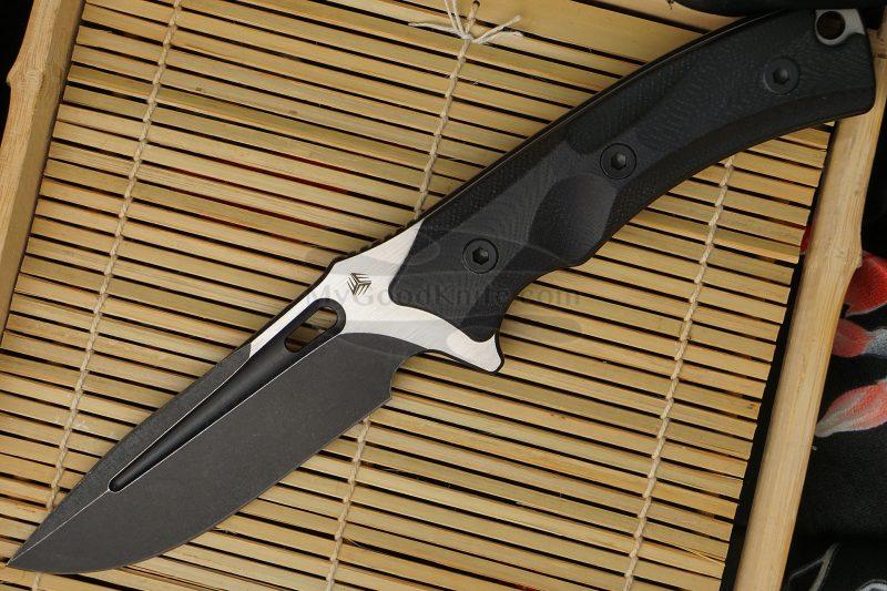 Фотография #1 Охотничий/туристический нож We Knife Vindex Черный 802B 11см