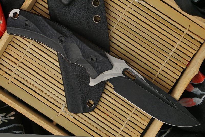 Valokuva #3 Puukko retkeilyyn ja metsästykseen We Knife Vindex Musta 802B 11cm