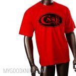 Photo #2 Case T-Shirt Red  (XL)