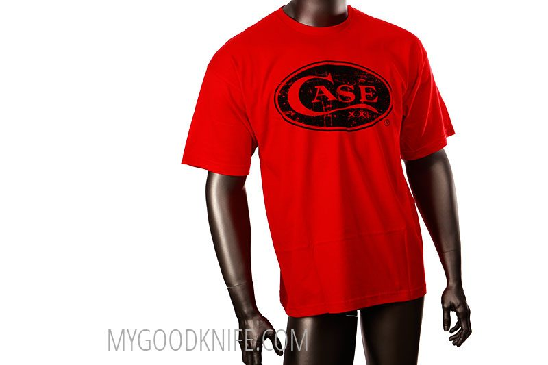 Photo #2 Case T-Shirt Red  (L)