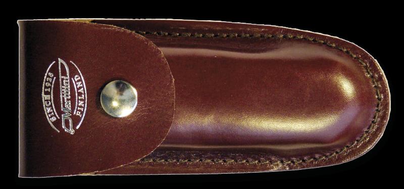 Photo #1 Sheath Marttiini Leather for folding knives L  930212 6.5cm
