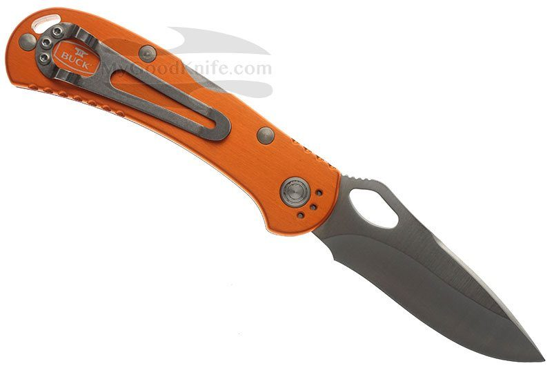 Photo #3 Buck Spitfire Knife orange 0722ORS1-B