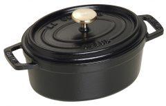 Staub Oval Cocotte 15 cm, Black 40509-478-0