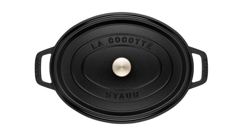 Photo #2 Staub Oval Cocotte 17 cm, Black  40509-482-0