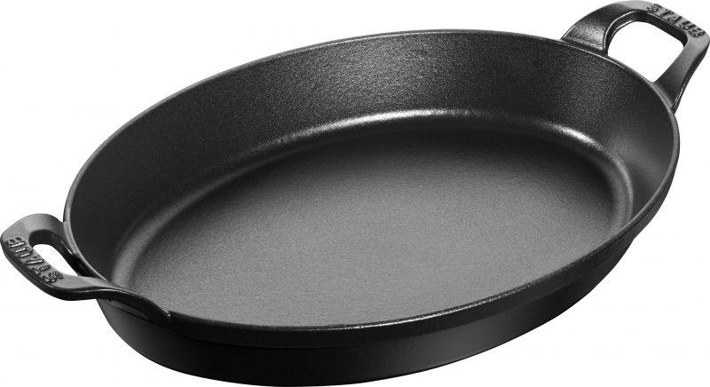 Photo #1 Baking dish Staub oval 32 cm, Black  40509-342-0