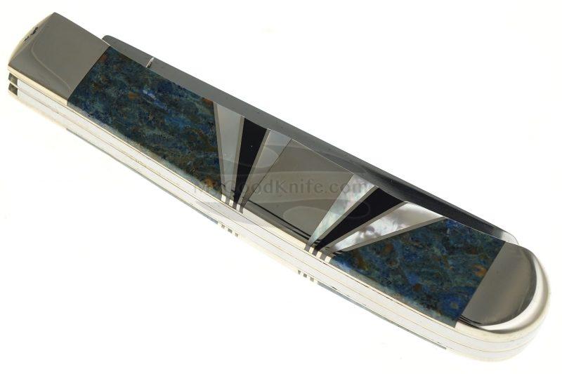 Valokuva #4 Trapper-kääntöveitsi Case Harley-Davidson Blue Coral 52176 7.9cm