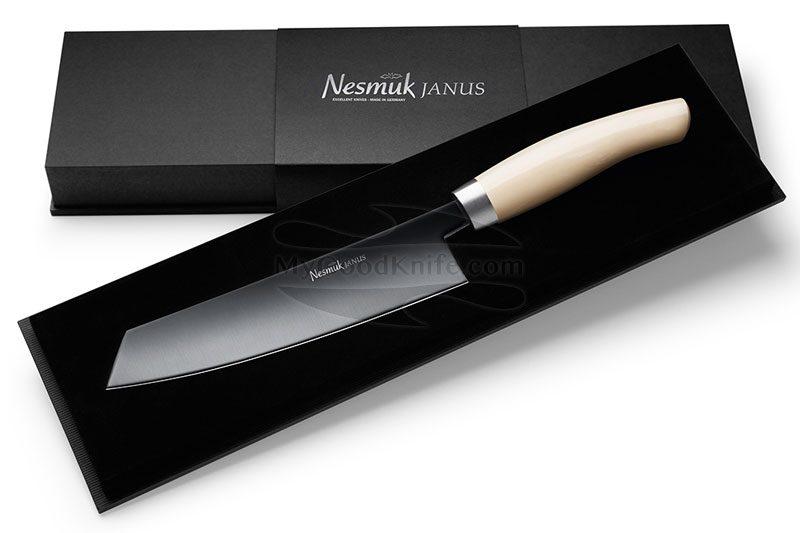 Фотография #2 Поварской нож Nesmuk JANUS Juma Ivory 18см