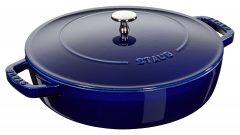 Staub Universal pan Chistera 24 cm, Dark blue 40511-477-0
