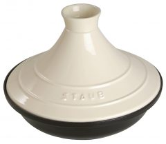 Staub Tajine round 28 cm, Cream 40509-395-0