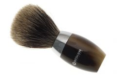 Böker Manufaktur Solingen Modern Horn Shaving Brush 04BO181