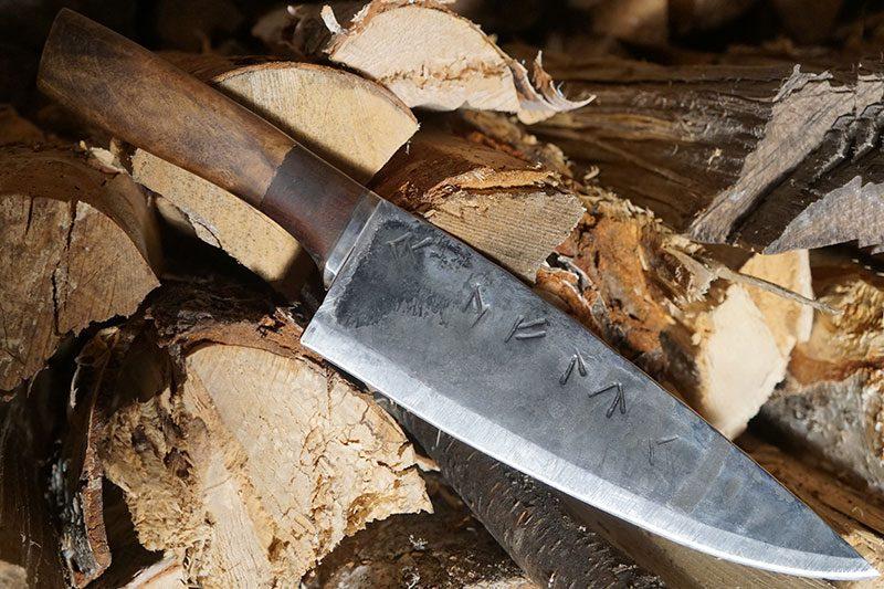 Фотография #1 Поварской нож Cathill Knives Ручной работы ckchbs 23см