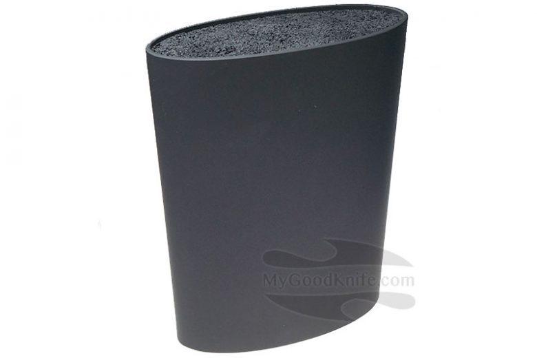 Valokuva #1 Zeller Veitsitukki, ovaali, musta