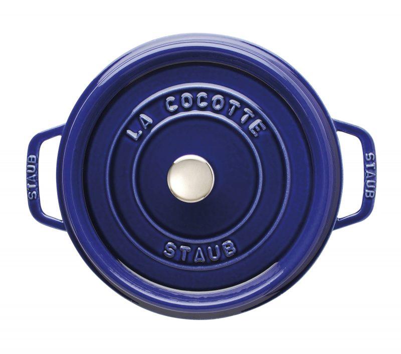 Photo #2 Staub Round Cocotte 24 cm, Dark blue 40510-283-0