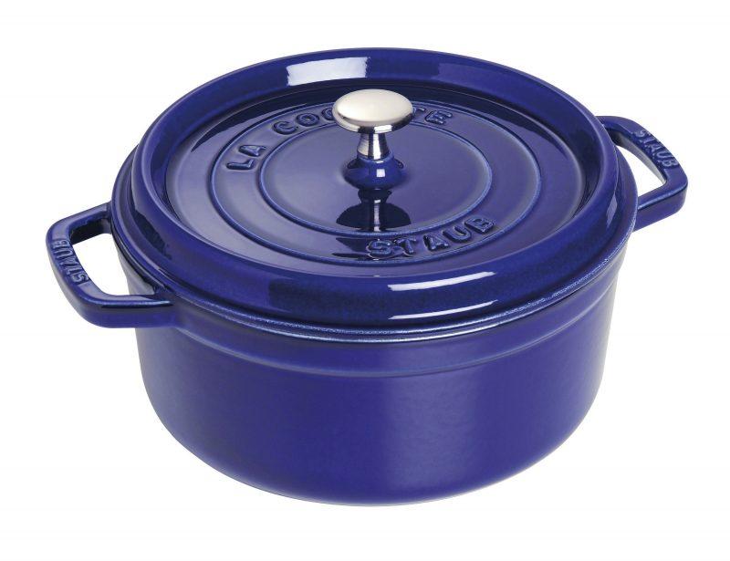 Photo #1 Staub Round Cocotte 24 cm, Dark blue 40510-283-0